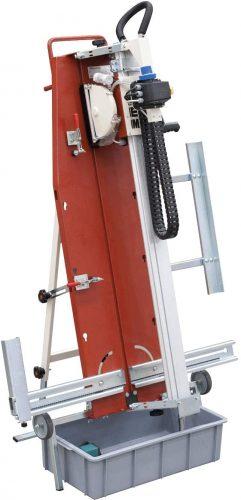 Cortadora Eléctrica Agua Vertical LEM 230V/50HZ con disco Ø200 para Azulejo