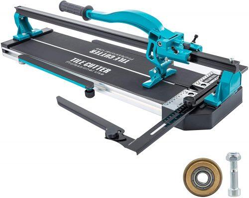 Bisujerro Cortadora de Azulejos 35mm-1200mm Máquina para Cortar Azulejos con Láser Cortador de Azulejos Manual Cortadora de Cerámica con Soporte