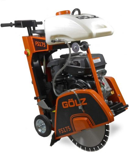 Gölz FS-175 - Sierra para suelos y juntas con motor CH440 de Kohler